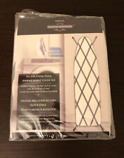 Westex Deluxe Extra Thick Ironing Board Pad White Khaki Stripe - Brand New