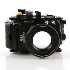 40m 130FT Waterproof Diving Housing Diving case For Canon PowerShot G9X Camera