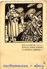 WW1 WWI Propaganda - Attilio - Ecco la Sconfitta:... - Formato Grande - PV241