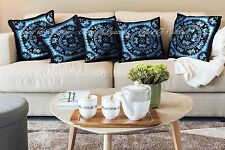 Elephant Mandala Set Of 5 Cushion Covers Bohemian Pillow Case Home Decor 18""