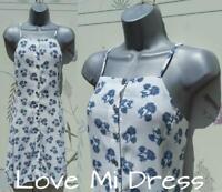 Millie Mackintosh - Gorgeous Blue & White Summer Dress Sz 12 EU40