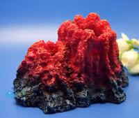 Aquarium Decoration Ornament  Volcano Resin ornament For Fish Tank AK581