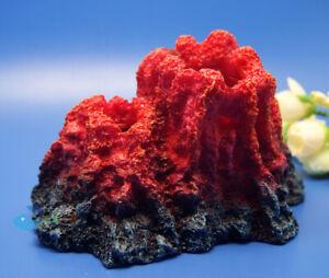 Aquarium Volcano Resin ornament For Fish Tank decoration AK581