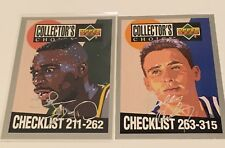 Kemp & Hurley - Checklists - Silver Signature - Collector's 1994/95