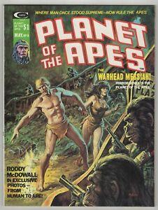 Planet Of The Apes (1974) #8 Marvel Magazine Norem Cover Ploog Alcala Art NM-