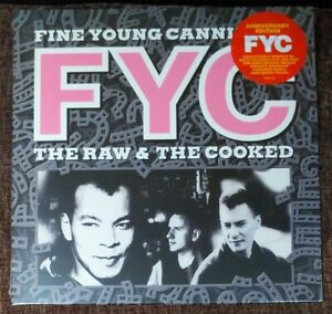 Fine Young Cannibals Raw & The Cooked White Vinyl LP 2020 Reissue