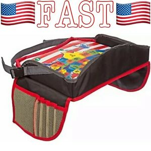 Driving With Kids Childrens Travel Tray Kids Car Seat Tray for Road Trips Bus