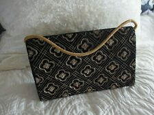 Vintage embroidered clutch purse bag