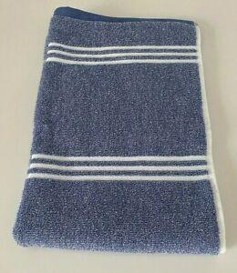 NWT TOMMY HILFIGER Towels Blue White Cotton Bath Hand Wash Cloth Choose Set OEKO