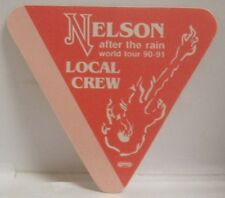 Nelson - Vintage Original Cloth Tour Concert Backstage Pass