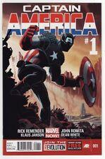 CAPTAIN AMERICA #1,2,3,4 & 5 Marvel Comics Rick Remender CASTAWAY IN DIMENSION Z