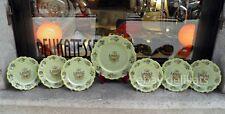 SAN MARINO 7 vecchi piatti ceramica