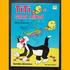 TITI ET GROS MINET et Misti la terreur Bandes dessinées 1985