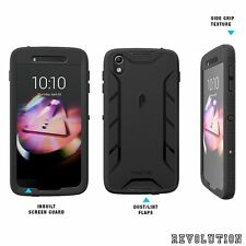 Case For Alcatel OneTouch Idol 4 Poetic Premium Rugged Case Cover Black