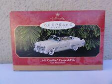 Hallmark Keepsake Ornament - 1949 Cadillac Coupe De Ville - 50th Anniversary