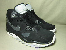 NIKE AIR TRAINER SC II QUICKSTRIKE Men's Black/Anthr Leather Trainers UK 6/EU 40