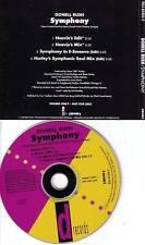 DONELL RUSH Symphony 3 MIXES PROMO CD single E Smoove BRAND NEW HEAVIES