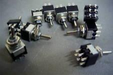 10 Pcs Miniature Toggle Switch DPDT DPCO Hobby Model Railways etc MTB-DPDT 903 w