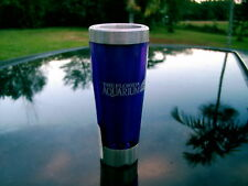 THE FLORIDA AQUARIUM SHOT GLASS THERMAL CONTAINER 4 IN. WITH STORE STICKER