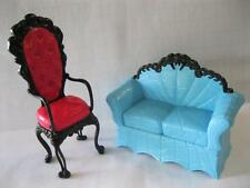 MoNSTeR HiGH COFFIN COFFEE BEAN Restaurant FURNITURE COUCH & CHAIR-Dollhouse