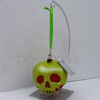 Disney Parks Snow White and the Seven Dwarves Evil Queen Poison Apple Ornament