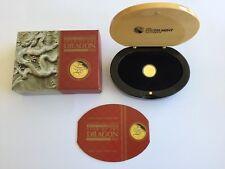 2012 $15 Perth Mint Lunar Series II Year of the Dragon  - 1/10oz .9999