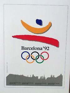 "Olympics Barcelona '92   (16"" x 12"")"