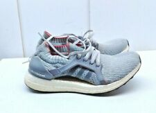 Adidas Ultra Boost Continental Gray Mesh Athletic Sneakers Women's Shoes 8M 39.5