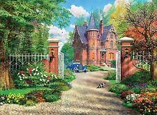 New Clementoni The Red Brick Cottage 500 Piece Landscape House Jigsaw Puzzle