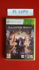 SAINTS ROW IV 4 XBOX 360 NEUF SOUS BLISTER VERSION FRANCAISE