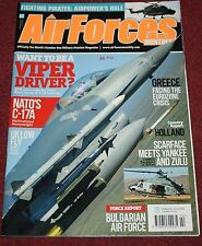Air Forces Monthly 2012 February USAF 56th FW,Bulgaria,Netherlands,C-17,Gripen