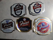 Lot of 150+ Vintage Point Beer Bottle Labels - Free Shipping