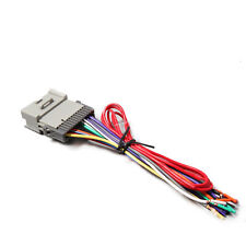 Aftermarket Radio Stereo Install Dash Wiring Harness Cable OEM GM Plug Adapter