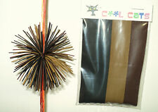 Camo Colored Rubber Cat Whiskers Archery Bowstring Silencers Rubber Spider Legs