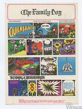 Family Dog 89 Mornin Papa Postcard Quicksilver Messenger Service 1967 Oct 27