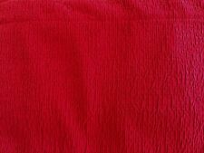 "JCP STUDIO ARISTA GROMMET top-curtain PANEL 50""W X 84""L Columbus Red A45"