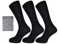 Men/'s 100/% Soft Cotton Non Elastic Smooth Toe Seam BIG FOOT Socks 11-14 UK BNG