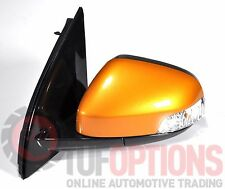 Ford FG & FGX Falcon LH Door Mirror Temp & Blinker VICTORY GOLD 05/08-10/16