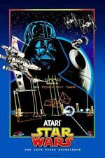 Atari Star Wars Video Game POSTER Darth Vader Arcade Coin-Op