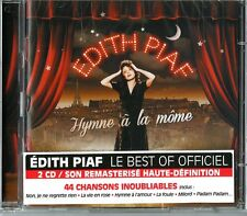 Edith PIAF - Hymme' La mome - the best 2 CD Neu versiegelt