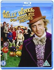 Willy Wonka And The Chocolate Factory [Bluray] [1971] [Region Free] [DVD]