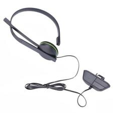 for Xbox One Wired Chat Gaming Headset Earphone With Microphone Adapter Black
