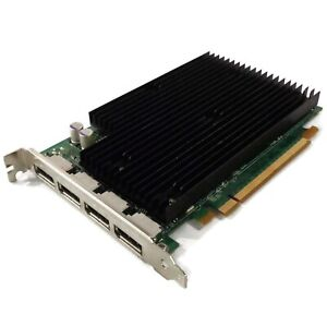 HP 492187-001 Nvidia Quadro NVS 450 512MB GDDR3 4x DP PCIe Video Graphics Card