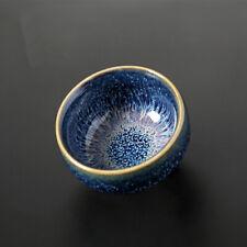 creative tea cup multi-size kungfu tea cup for Pu'er tea Jian Zhan Tian Mu glaze