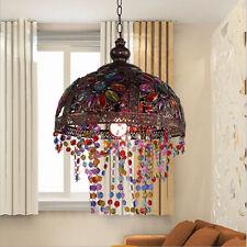 Glass Chandelier Lamp Shade Hanging Light Fixtures Ceiling Lamp Pendant Lighting