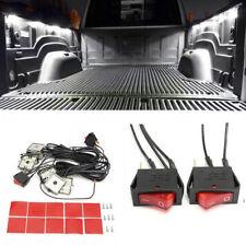8PC White 48 LED Truck Bed Rear Work Box Lighting Kit Trunk Light for All Pickup