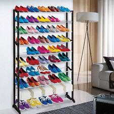 Meuble Organisateur Range Chaussures 50 Paire Étagère Placard Armoire Shoes Neuf