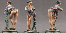 tin toy soldiers ELITE painted  Girl 80mm the Geisha
