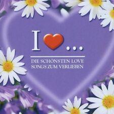 I Love ... - Die Schönsten Love Songs Zum Verlieben  [2-CD]  NEU+VERSCHWEISST!