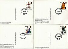 1976 BRITISH CULTURAL TRADITIONS PHQ CARD SET REAR STIRLING FDI. No 17. CAT £12